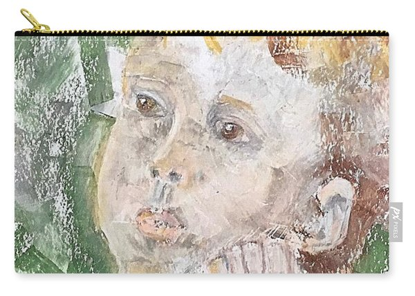 In The Eyes Of A Child Carry-all Pouch