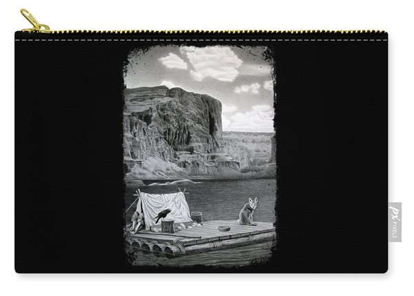 In The Grand Canyon Carry-all Pouch