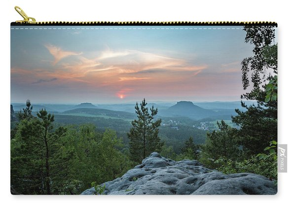 In The Land Of Mesas Carry-all Pouch