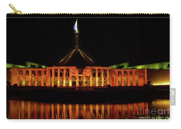 In The Light Of Magna Carta Carry-all Pouch