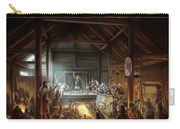 In The Name Of Odin Cover Art Carry-all Pouch