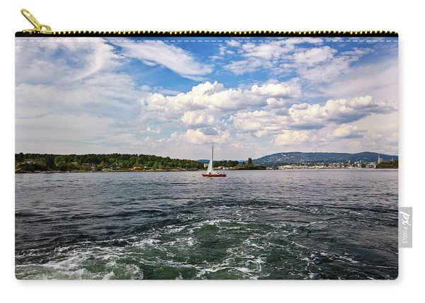 In The Oslo Fjord Carry-all Pouch