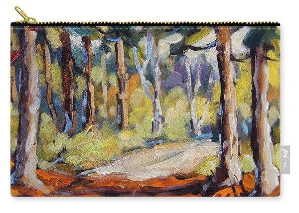 In The Pines Orginal Art By Prankearts Carry-all Pouch