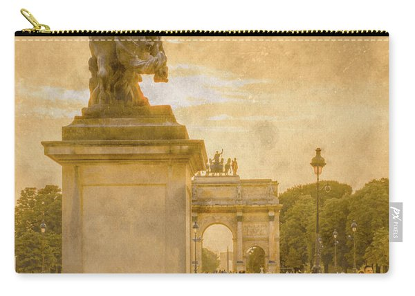 Paris, France - In The Shadow Of Glory Carry-all Pouch