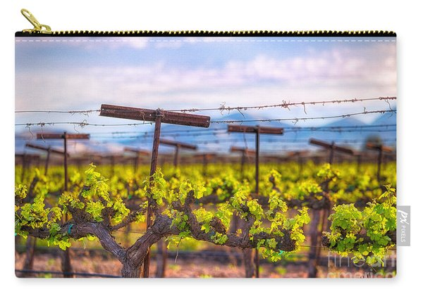 In The Vineyard Carry-all Pouch