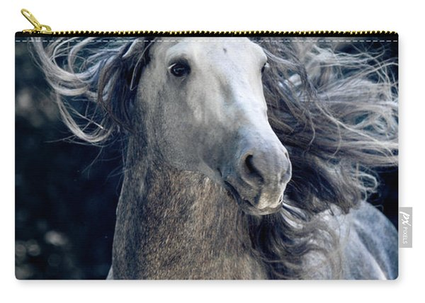 In The Waves Of Mane Carry-all Pouch