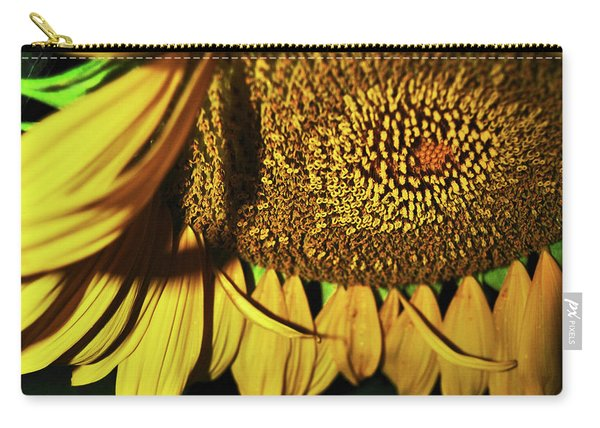 In Your Face Sunflower Carry-all Pouch