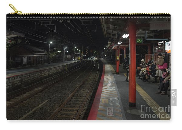 Inari Station, Kyoto Japan Carry-all Pouch