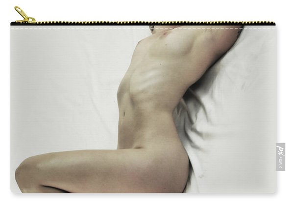 Inclined Nude Carry-all Pouch