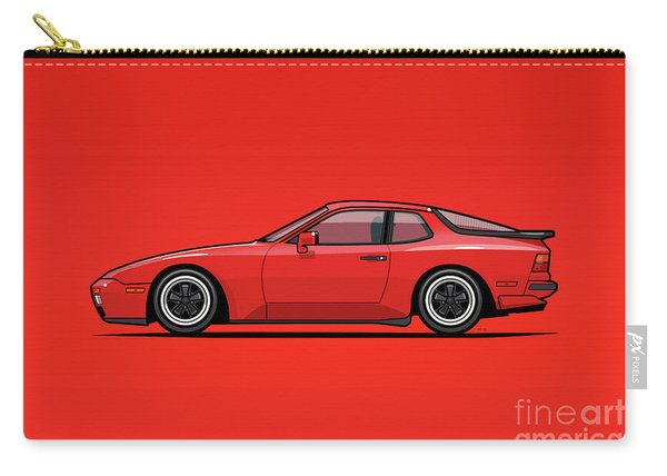 India Red 1986 P 944 951 Turbo Carry-all Pouch
