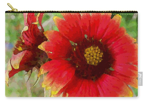 Indian Blanket Flowers Carry-all Pouch