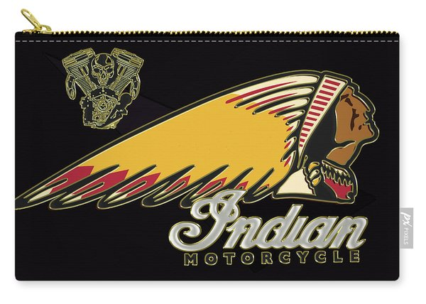 Indian Motorcycle Logo Series 2 Carry-all Pouch