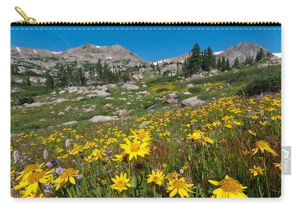 Indian Peaks Summer Wildflowers Carry-all Pouch