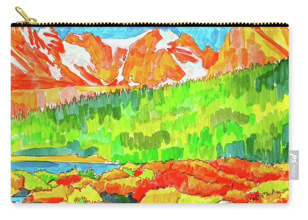 Indian Peaks Wilderness Carry-all Pouch