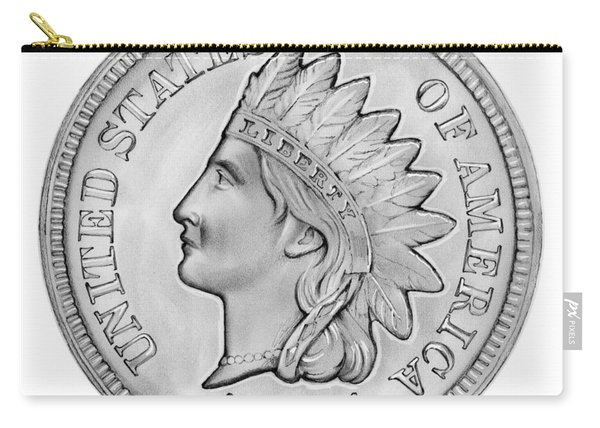 Indian Penny Carry-all Pouch
