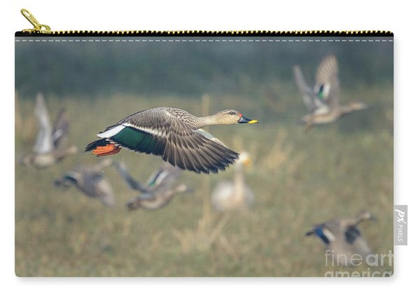 Indian Spot-billed Duck 01 Carry-all Pouch