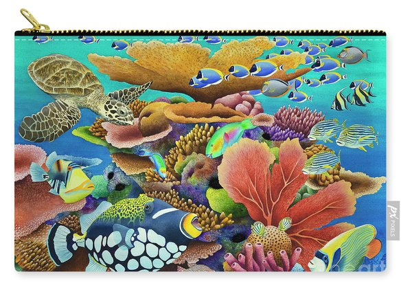 Indian Summer Fish Carry-all Pouch