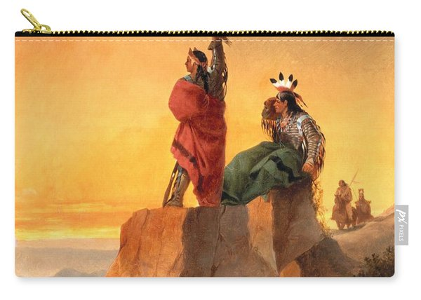 Indian Telegraph Carry-all Pouch