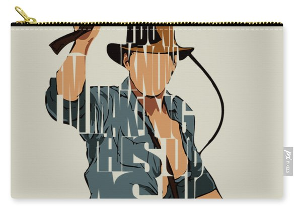 Indiana Jones - Harrison Ford Carry-all Pouch