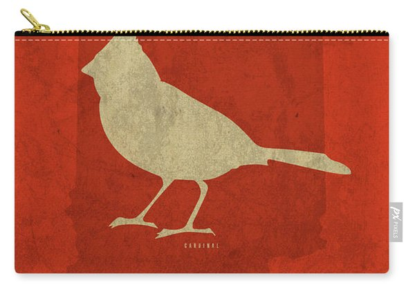 Indiana State Facts Minimalist Movie Poster Art Carry-all Pouch