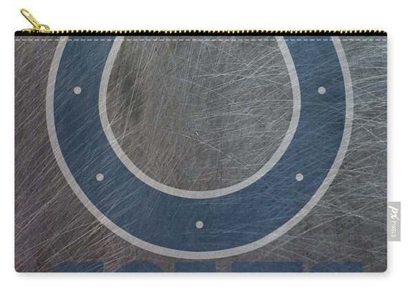 Indianapolis Colts Translucent Steel Carry-all Pouch