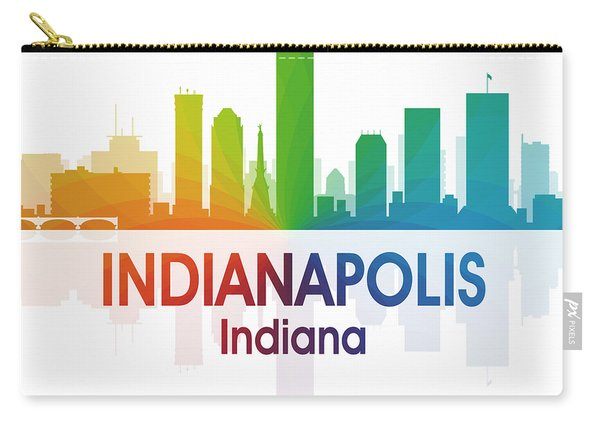 Indianapolis In 1 Squared Carry-all Pouch