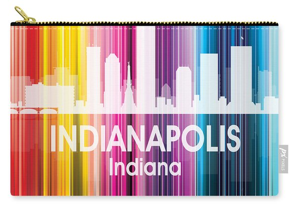 Indianapolis In 2 Squared Carry-all Pouch