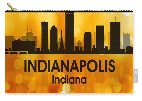 Indianapolis In 3 Squared Carry-all Pouch