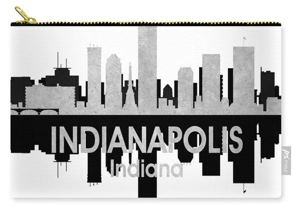 Indianapolis In 4 Squared Carry-all Pouch