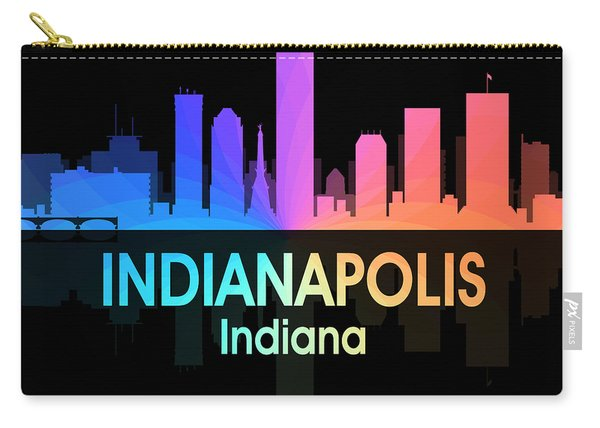 Indianapolis In 5 Squared Carry-all Pouch