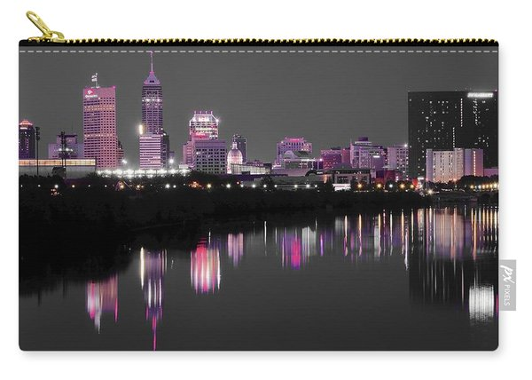 Indianapolis Lights Up Nicely Carry-all Pouch