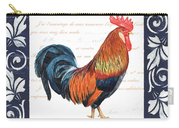 Indigo Rooster 1 Carry-all Pouch