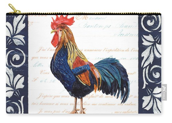Indigo Rooster 2 Carry-all Pouch