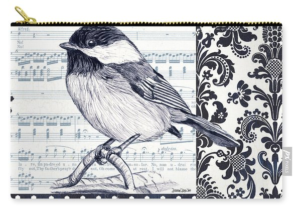 Indigo Vintage Songbird 2 Carry-all Pouch