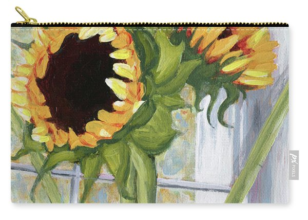 Indoor Sunflowers II Carry-all Pouch