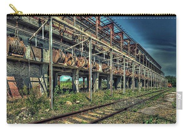 Industrial Archeology Railway Silos - Archeologia Industriale Silos Ferrovia Carry-all Pouch