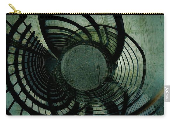 Industrial Overpass Grey Carry-all Pouch