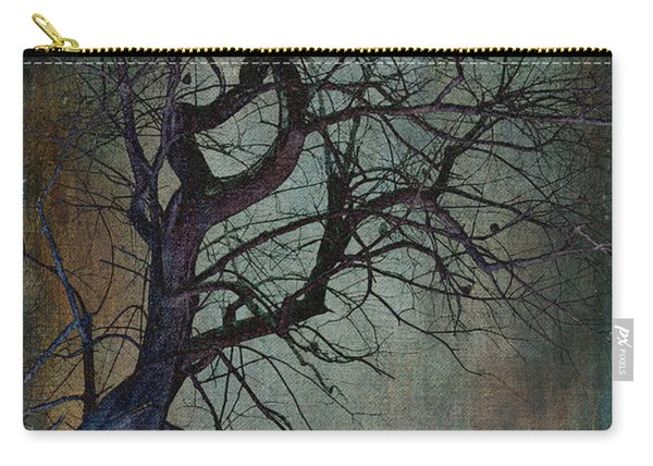 Infared Tree Art Twisted Branches Carry-all Pouch