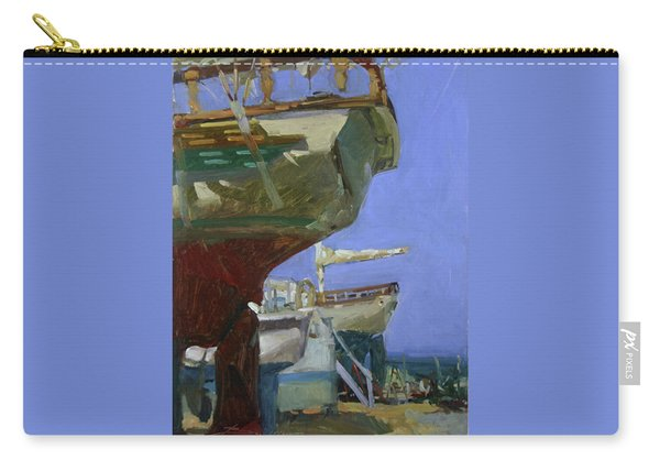 Infinity Awaiting Winter - Plein Air Catalina Island Carry-all Pouch