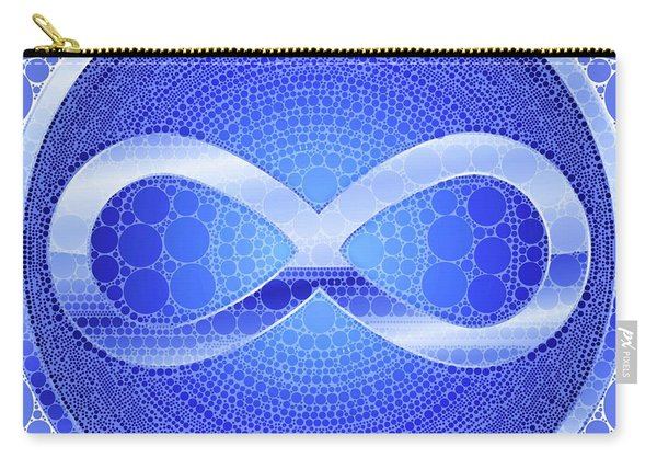 Infinity, Pop Art By Mb Carry-all Pouch