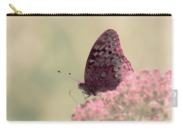 Carry-all Pouch featuring the photograph Infrared Fritillary 2 by Brian Hale