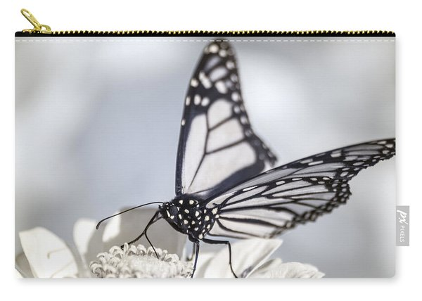 Carry-all Pouch featuring the photograph Infrared Monarch 2 by Brian Hale