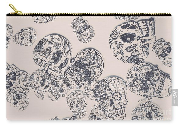 Inks And Pieces Carry-all Pouch