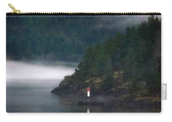 Inner Passage In The Mist Carry-all Pouch