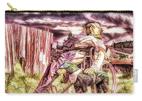 Insanity-digital Carry-all Pouch