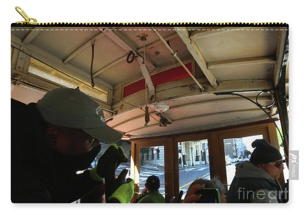 Inside A Cable Car Carry-all Pouch