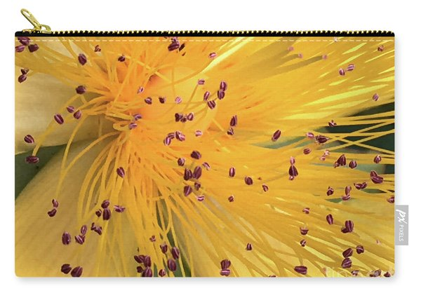 Inside A Flower - Favorite Of The Bees Carry-all Pouch