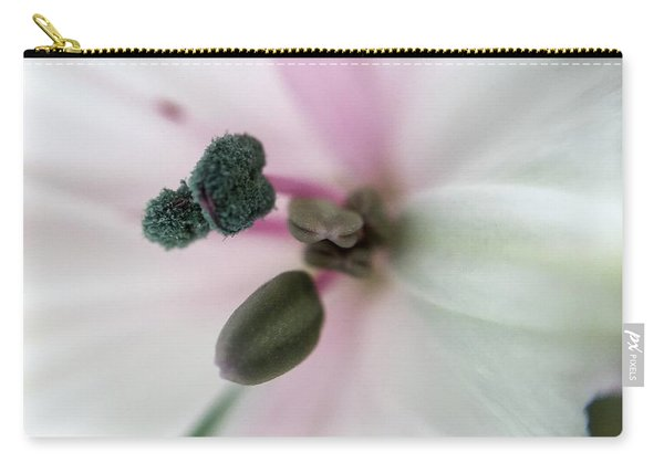 Inside Macro Tulip  Carry-all Pouch