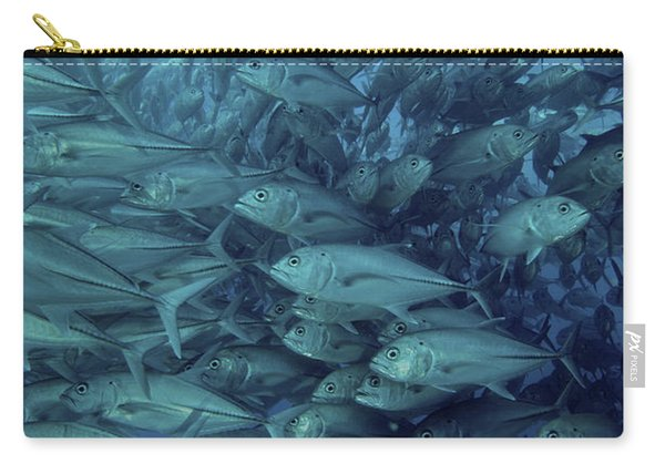 Inside Of A School Of Jack Fish, Cabo Carry-all Pouch