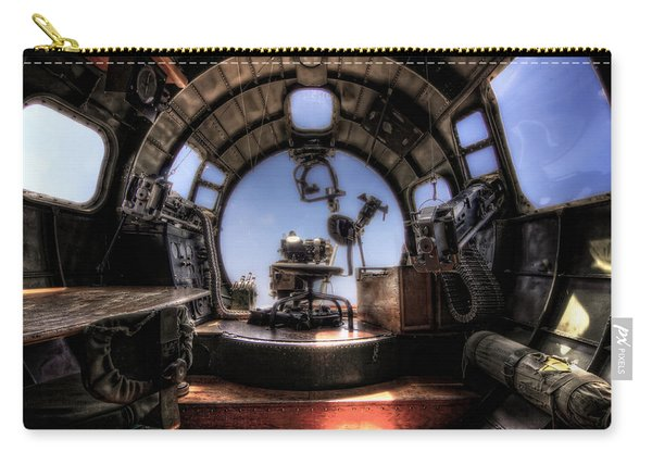 Inside The Flying Fortress Carry-all Pouch